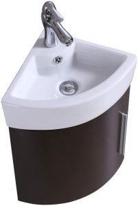 Renovator's Supply Corner Wall Mount Vanity Sink