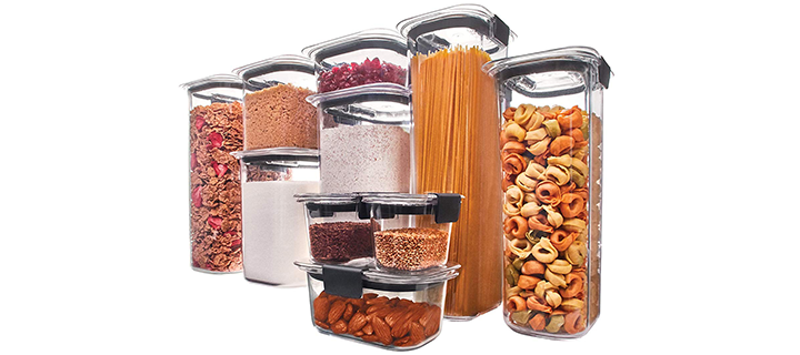 Rubbermaid Brilliance Pantry Airtight Food Storage Container