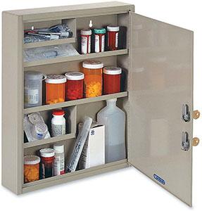 STEELMASTER Medical Security Cabinet