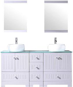 Harper 60-inch Double Bathroom Vanity Sink