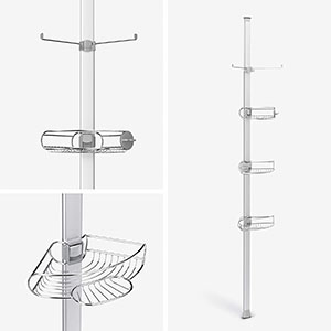 Simplehuman Adjustable Tension Shower Caddy