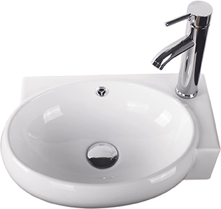 Sliverylake Corner Wall Mount Sink