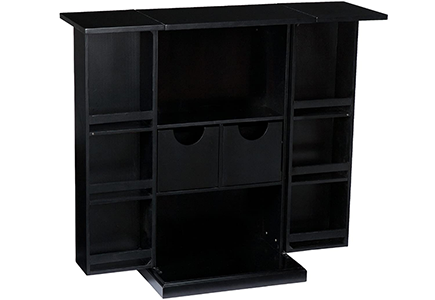 Southern Enterprises Space Saving Fold Away Bar Cabinet