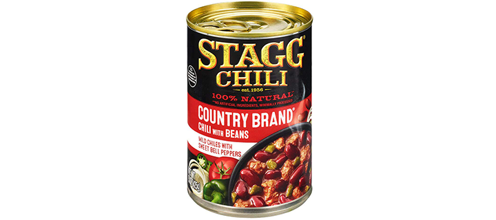 Stagg Country Brand Chili with Beans
