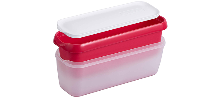 StarPack Long Scoop Ice Cream Freezer Storage Container