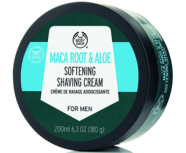 The Body Shop Maca Root & Aloe Softening Shaving Cream