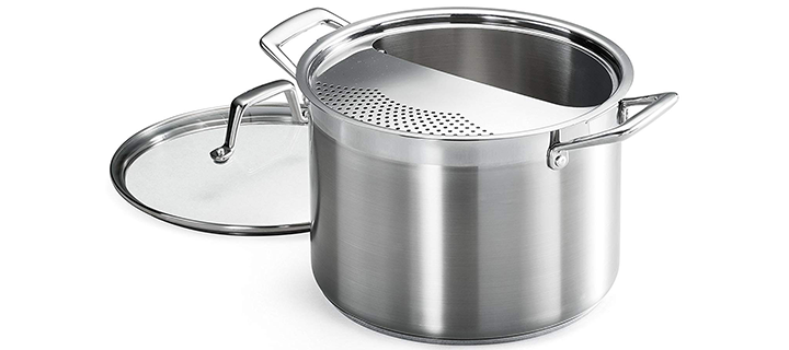 Tramontina 80120 509DS Lock & Drain Pasta Cooker Pot