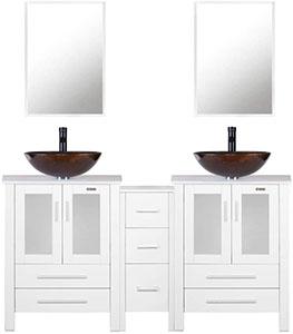 U-Eway Double Vanity Sink
