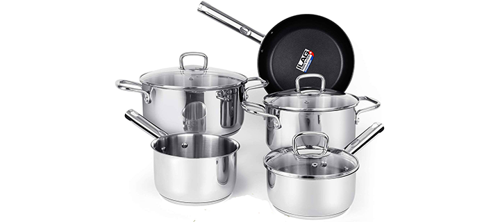 Viewee Stainless Steel Cookware Set
