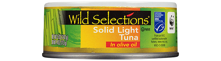 WILD SELECTIONS Solid Light Tuna