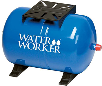 WaterWorker Horizontal Precharged Well Pressure Tank