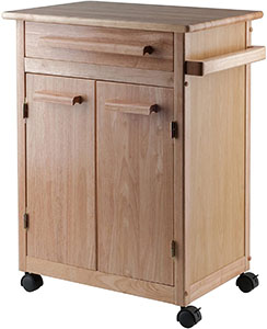 Winsome Wood Single Drawer Kitchen Cabinet Storage