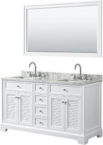 Wyndham 60 Double Vanity Sink