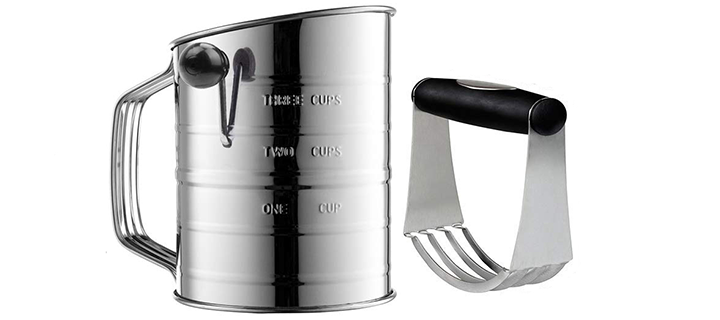 Yummy Sam 3-Cup Flour Sifter Stainless Steel