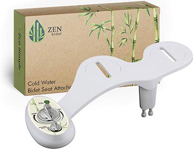 Zen Bidet Z-300 Two Nozzle BRASS INSIDE Self Cleaning
