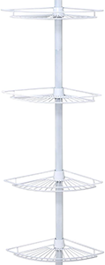 Zenith Products Tension Pole Corner Shower Caddy