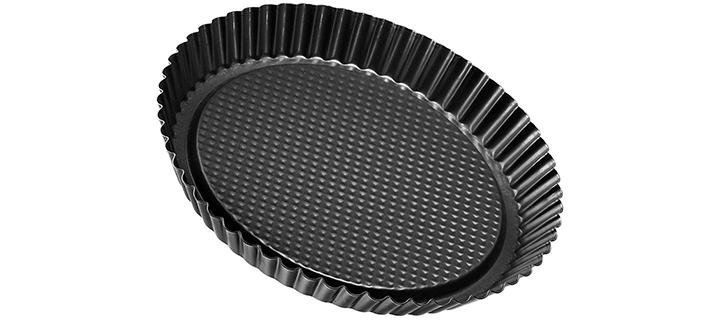 Zenker Non-Stick Carbon Steel Flan Tart Pan