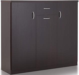 ioHOMES Darrion Modern Shoe Cabinet