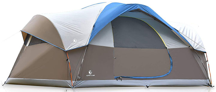 ALPHA CAMP Dome Family Tent