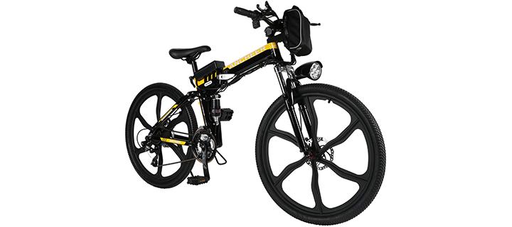 ANCHEER Folding Mountain Bike