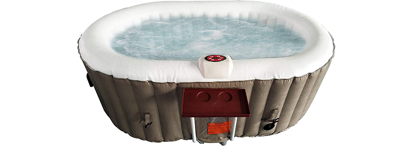 Aleko Inflatable Oval Hot Tub