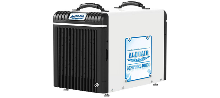 AlorAir Basement Crawlspace 198PPD Dehumidifier