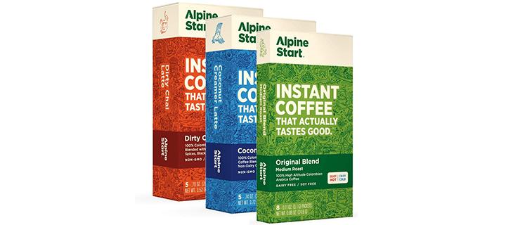 Alpine Start Premium Instant Coffee Variety