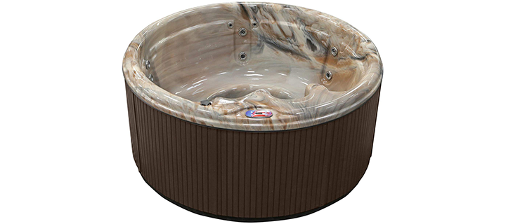 American Spas 5 Person Hot Tub with Multi Color Spa Light