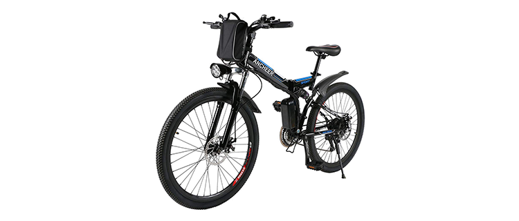 Ancheer 250W Folding Electric Bike