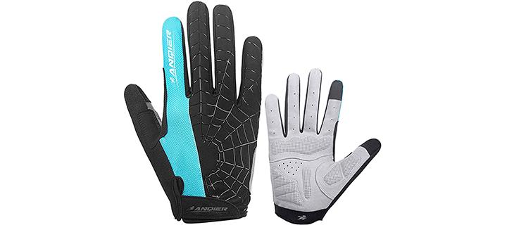 Anqier Anti-Slip Shock Cycling Gloves