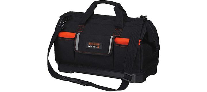 BLACK+DECKER BDCMTSB Matrix Wide-Mouth Storage Bag