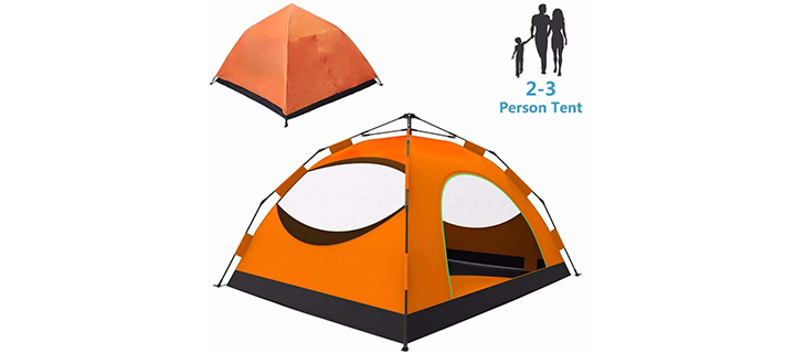 Backpacking LETHMIK Instant Automatic Pop Up Tent