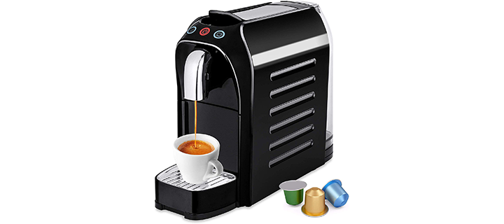 Best Choice Products Automatic Programmable Espresso Single-Serve Coffee Maker