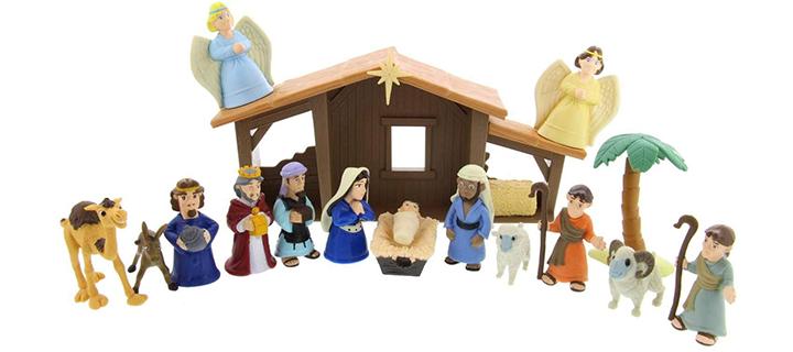 BibleToys Tales of Glory Nativity Set For Kids