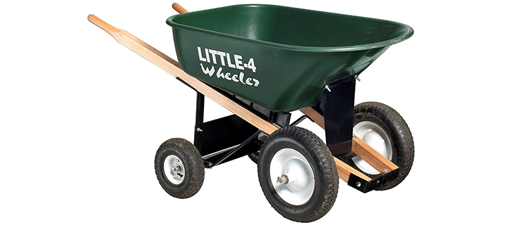 Big 4 Wheeler Heavy-Duty Wheelbarrow