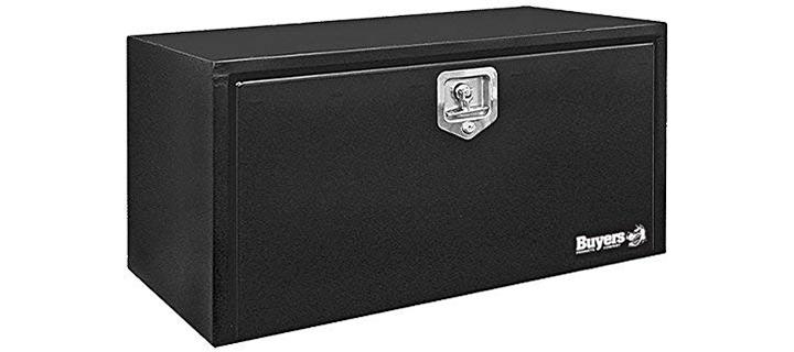Buyers Products Black Steel Underbody Truck Box