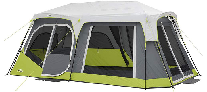 CORE 12 Person Cabin Tent with Side Entrance
