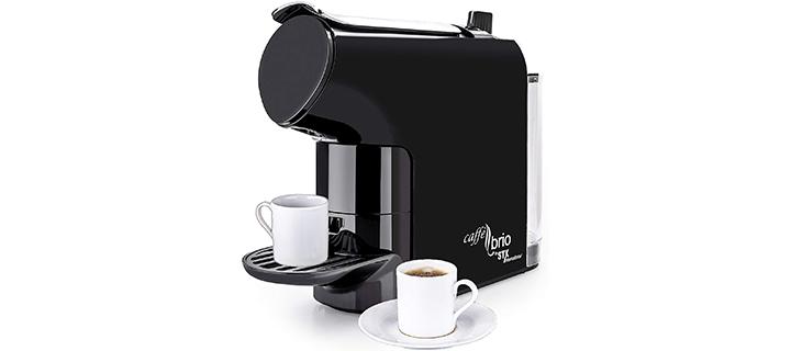 Caffé Brio, Nespresso OriginalLine Capsule Compatible Espresso Coffee Maker