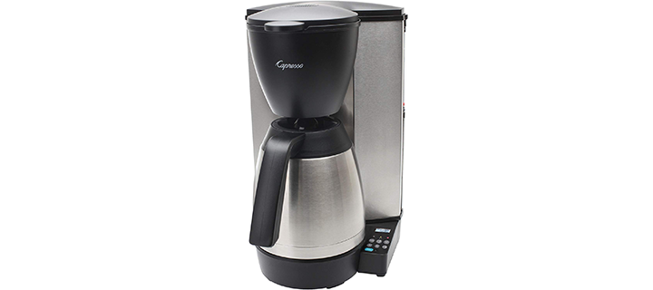 Capresso 48505 MT600 Plus 10-Cup Programmable Coffee Maker