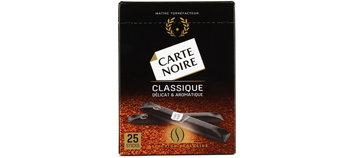 Carte Noire Instant Coffee 25 Individual Sticks