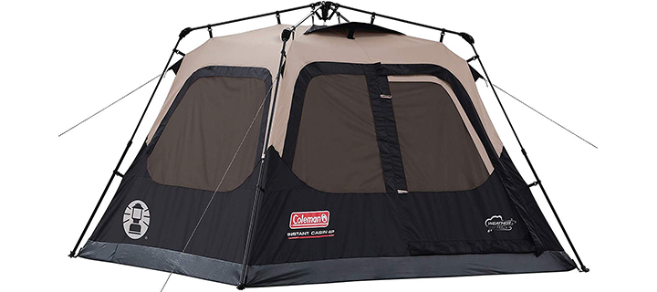 Coleman 4 Person Cabin Tent with Instant Setup