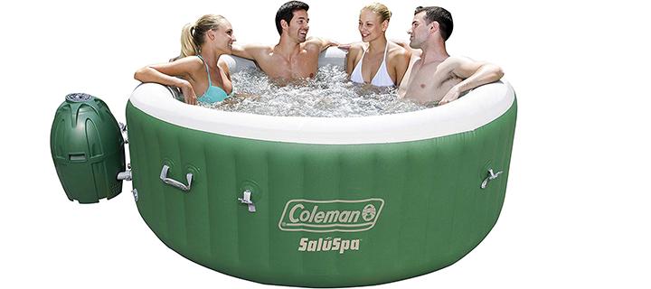 Coleman Lay-Z-Spa Portable 4-Person Hot Tub