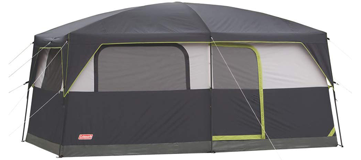 Coleman Prairie Breeze Lighted Cabin Tent