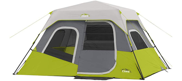 Core Six People Instant Cabin Tent
