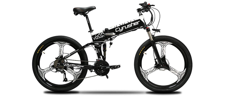Cyrusher Foldable E-Bike XF770