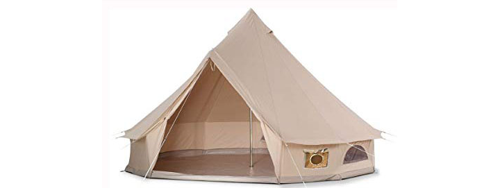 DANCHEL 4-Season Family Cotton Tent