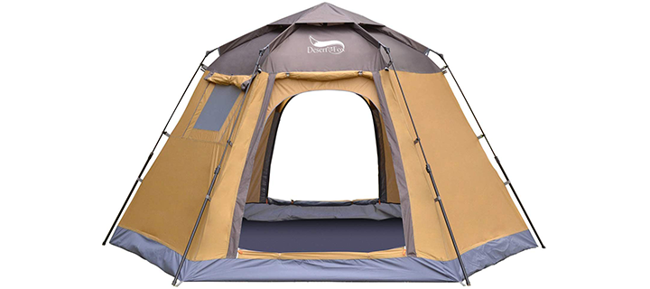 DESERT & FOX 5 Person Automatic Pop-up Tent