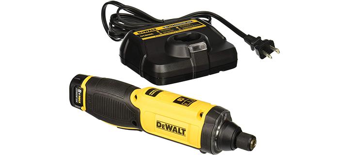 DEWALT 8V MAX Cordless Screwdriver Kit