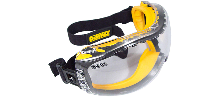 DEWALT DPG82-11 DPG82-11CTR Concealer Clear Safety Goggle