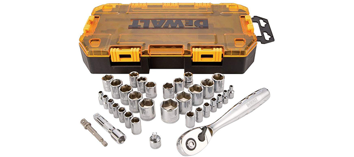 DeWalt 34-Piece Socket Set